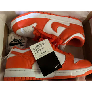 ナイキ(NIKE)のNIKE DUNK LOW SP SYRACUSE 27cm(スニーカー)