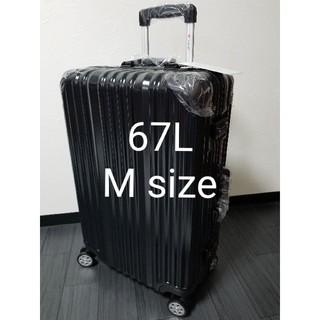 新品 未使用 Mサイズ キャリーバッグ ブラック(スーツケース/キャリーバッグ)