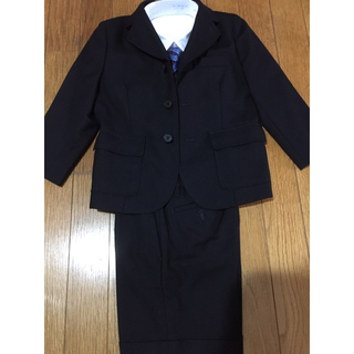 バーバリー(BURBERRY)のBurberry  110センチ  スーツ上下  ネクタイ(ドレス/フォーマル)