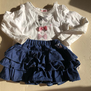 MARKEY'S - マーキーズフリリ可愛いスカートパンツタイプ100cm