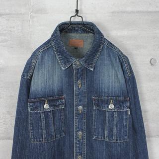 ジッポー(ZIPPO)の古着 Zippo ジッポー ビッグシルエット デニム ワークシャツ(シャツ)