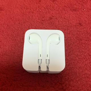 アップル(Apple)のiPhone イヤホン 純正品(ヘッドフォン/イヤフォン)