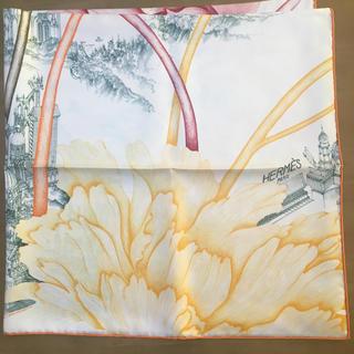 エルメス(Hermes)のエルメス スカーフ カレ90  ピヴォワンヌの影(バンダナ/スカーフ)