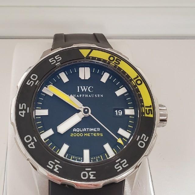 IWC - IWC 356810 アクアタイマー 2000 腕時計 自動巻き 稼働中 の通販