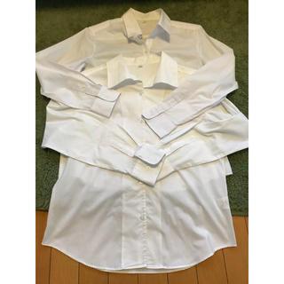 EASTBOY - ワイシャツ 2点セット 制服 白シャツ 1度使用のみ 美品 長袖シャツ 11号