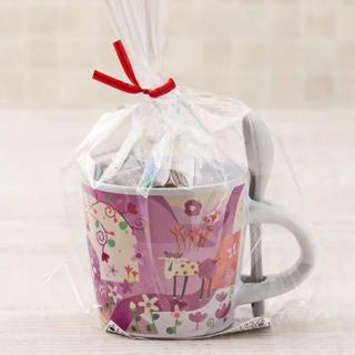 カルディ(KALDI)の新品カルディ 限定  モモめえミニカップ(スプーン付き)   (容器)