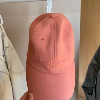 ロデオクラウンズ(RODEO CROWNS)の【未使用】Rodeo Crowns   帽子 ピンク(キャップ)