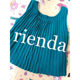 rienda - rienda * タンクトップス