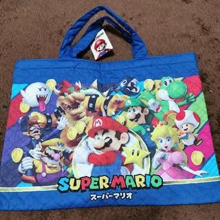 ニンテンドウ(任天堂)の新品 スーパーマリオ レッスンバッグ(レッスンバッグ)
