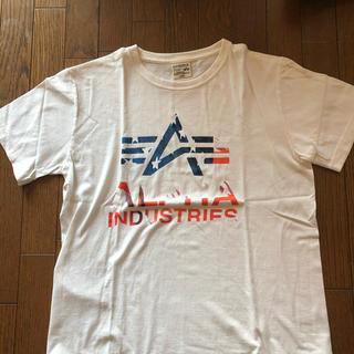 アルファ(alpha)のアルファTシャツ(Tシャツ/カットソー(半袖/袖なし))