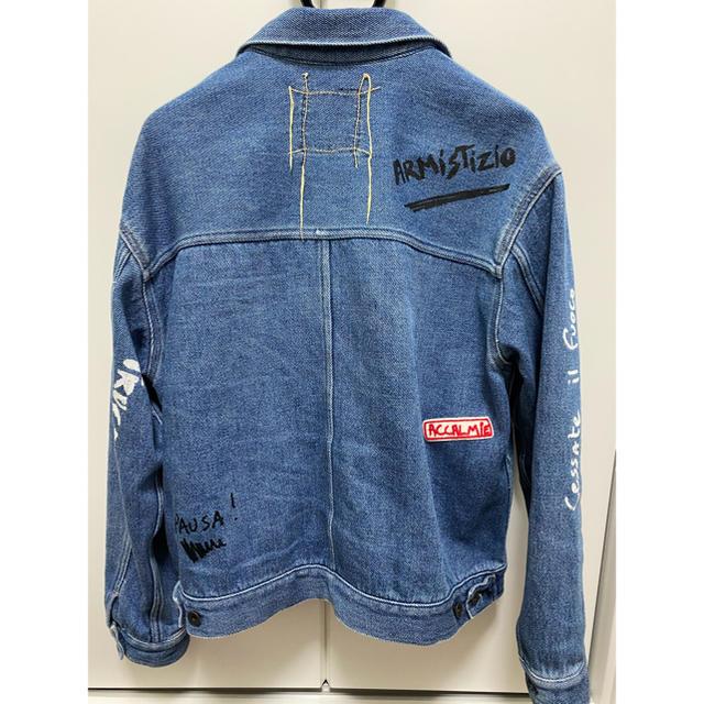 値下げしました!KURO×VVV  コラボ デニムジャケット メンズのジャケット/アウター(Gジャン/デニムジャケット)の商品写真