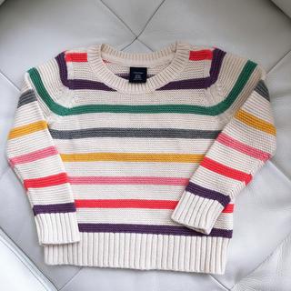 babyGAP - 【美品】baby GAP コットンニット セーター サイズ90