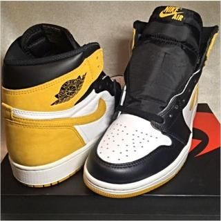 ナイキ(NIKE)の27.5cm NIKE AIR JORDAN 1 YELLOW OCHRE(スニーカー)