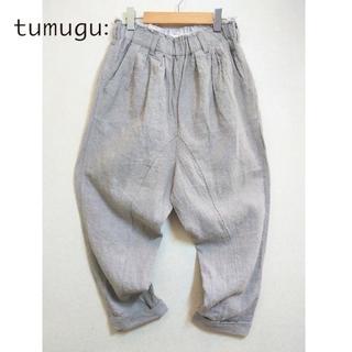 tumugu - 美品 tumugu✨ツムグ 麻 リネン100% サルエル イージーパンツ