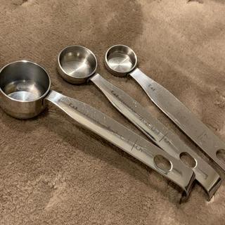 カイジルシ(貝印)の貝印 KAI 計量スプーン SELECT100 DH3006  3つセット(調理道具/製菓道具)