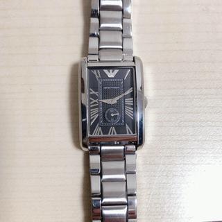 エンポリオアルマーニ(Emporio Armani)のEMPORIO ARMANI 腕時計 スクエア(腕時計(アナログ))