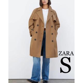 ザラ(ZARA)の【新品・未使用】ZARA トレンチコート S(トレンチコート)