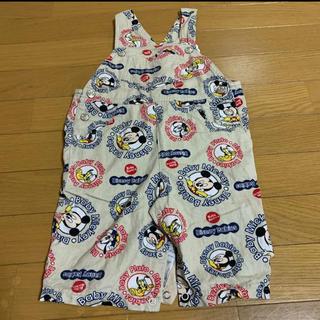 ディズニー(Disney)のディズニー 子供服 オーバーオール(パンツ/スパッツ)