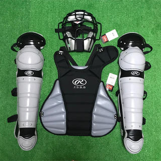 Rawlings - ※展示品※ 一般軟式野球用 キャッチャー プロテクター レガース 面