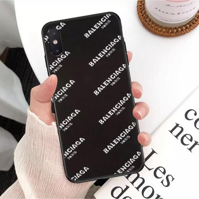 iPhoneケース アイフォンケース 高級感溢れるブラックの通販
