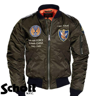 ショット(schott)のSchott NYC ショット ★ M MA-1 フライト ジャケット(フライトジャケット)