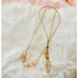 先着瞬間セール中!新品 ◆艶めくキューブが素敵♪ ネックレス(ネックレス)