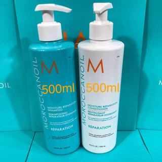 モロッカンオイル(Moroccan oil)のラクマ パック 500mlセット モロッカンオイル シャンプー×コンディショナー(シャンプー/コンディショナーセット)
