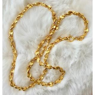 新品 ◆デザイナーズ試作 インポート 金色 ネックレス(ネックレス)