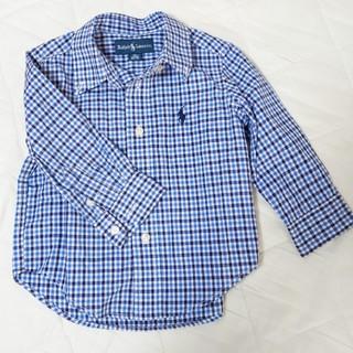POLO RALPH LAUREN - ポロラルフローレン 12M ボタンダウンシャツ