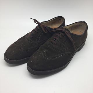 ハッシュパピー(Hush Puppies)の良品 ハッシュパピー  ウイングチップ  スエード 日本製 大塚製靴(ドレス/ビジネス)