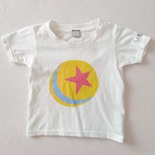ディズニー(Disney)のDISNEY PIXAR キッズ 半袖Tシャツ ホワイト 100cm(Tシャツ/カットソー)