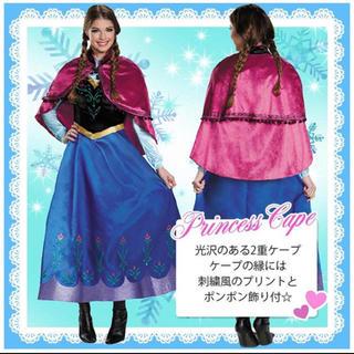 アナトユキノジョオウ(アナと雪の女王)のアナ雪 コスプレ Lサイズ レディース(衣装一式)