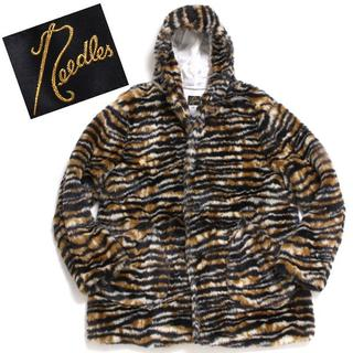 Needles - 19aw Needles Hooded Coat タイガー ファーコート S