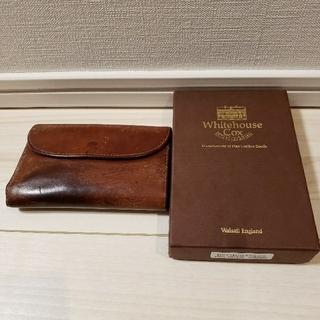 ホワイトハウスコックス(WHITEHOUSE COX)のWhitehouseCox ビンテージブライドル財布(折り財布)