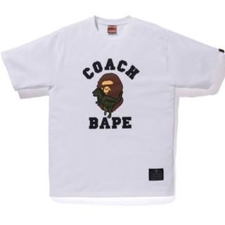 アベイシングエイプ(A BATHING APE)のA BATHING APE COACH 限定Tシャツ XLサイズ(Tシャツ/カットソー(半袖/袖なし))