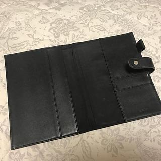 マークス(MARK'S Inc.)のEDIT 手帳カバー A5 黒(手帳)