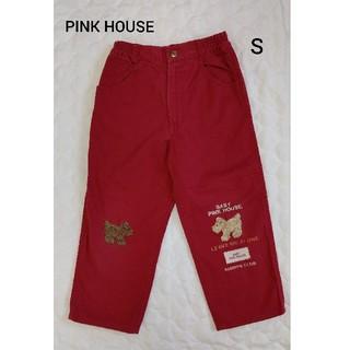 ピンクハウス(PINK HOUSE)のピンクハウス PINK HOUSE 赤パンツ S 100㎝くらい(パンツ/スパッツ)