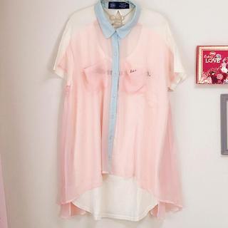 アゲインスト(AGAINST)のTシャツ(Tシャツ(半袖/袖なし))
