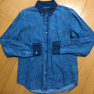 RAGEBLUE - デニムシャツ インディゴ 長袖シャツ