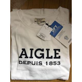 エーグル(AIGLE)の【新品未使用】AIGLEエーグル 速乾 長袖シャツ(Tシャツ/カットソー(七分/長袖))