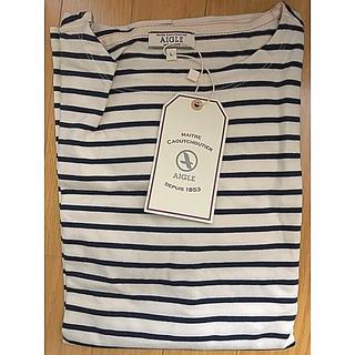 エーグル(AIGLE)の【新品未使用】AIGLEエーグル 長袖シャツ(Tシャツ/カットソー(七分/長袖))