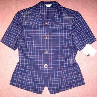 新品 9号 オーバーブラウス OL制服 事務服 T688(シャツ/ブラウス(半袖/袖なし))