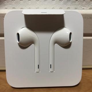 アイフォーン(iPhone)の アップル アイフォン 純正イヤホン(ヘッドフォン/イヤフォン)