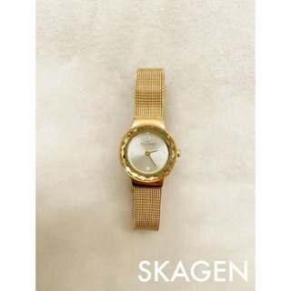 SKAGEN - 腕時計 SKAGEN スカーゲン ゴールド