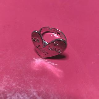 スピンズ(SPINNS)のシルバー ハート リング 指輪(リング(指輪))