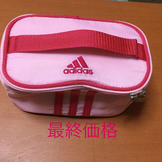 アディダス(adidas)の【美品】adidas お弁当保冷バッグ(弁当用品)