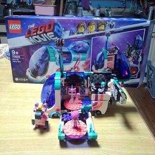 レゴ(Lego)のLEGO70828ムービー2ホップアップパーティーバス1度組み立て新品同様美品(その他)