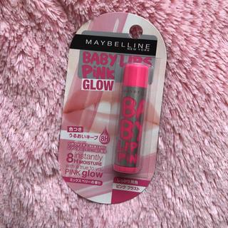 メイベリン(MAYBELLINE)のメイベリン ニューヨーク リップクリーム ピンクグロウ 01 ベビーピンク(リップケア/リップクリーム)