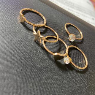 フォーエバートゥエンティーワン(FOREVER 21)のリング5点セット(リング(指輪))