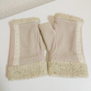 シマムラ(しまむら)の未使用 しまむら 手袋 ベージュ(手袋)